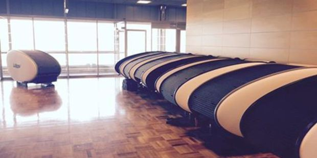 Airports are perhaps one of the worst places to sleep in while you're travelling but some are more comfortable than others. Above, the sleeping pods in Helsinki-Vantaa Airport. Photo / Facebook