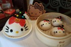 Hello Kitty-themed treats from Hello Kitty Chinese Cuisine. Photo / Facebook