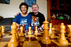 Viv and Bob Smith, from Mount Maunganui, have both been awarded the meritorious service awards from the Asian Chess Federation. Photo/Ruth Keber