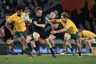 All Blacks fullback Ben Smith in action against Australia. Photo / Brett Phibbs