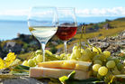 Research shows eating cheese boosts the fruitiness and aroma of your glass of wine. Photo / 123RF.com