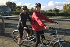 BRILLIANT INVENTION: It's a bike - and nurses Kath and Marilyn will tell you it's fun and keeps you fit.