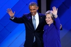 Barack Obama has campaigned for Hillary Clinton, who served as Secretary of State during Obama's first term as President. Photo / AP