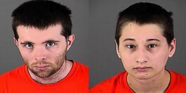 The mug shots for Nicholas and Gypsy.