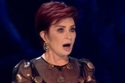 Sharon Osbourne suffered an embarrassing moment on UK X Factor that had some viewers accusing her of being drunk.