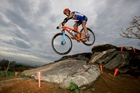 Peter Sagan skipped the Olympic road race to compete in the mountain bike event. Photo / AP