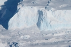 The Thwaites Glacier is already contributing 10 per cent of all global sea level rise. Picture / Nasa
