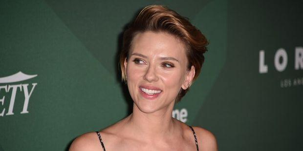 Actress Scarlett Johansson. Photo / AFP