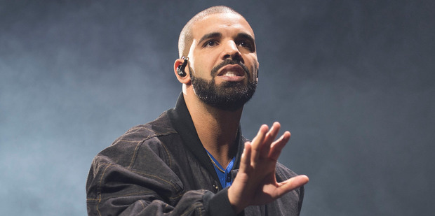 Drake holds the new record on Spotify thanks to his hit One Dance. Photo/AP