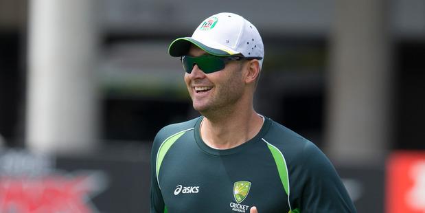 Former Australian cricket captain Michael Clarke. Photo / Brett Phibbs