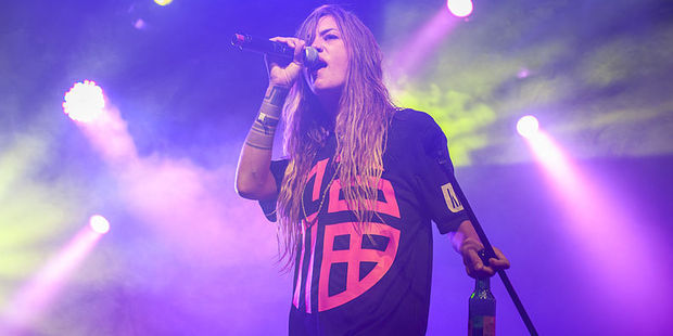 Swedish singer Elliphant said she left the party before the alleged fight. Photo / Creative Commons, Kim Metso