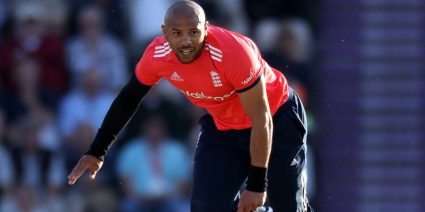 Tymal Mills will be bringing his youthful pace to Auckland for this summer's domestic T20 competition. Photo / Photosport