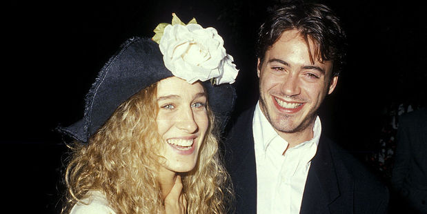 ctress Sarah Jessica Parker and actor Robert Downey, Jr. were together in 1988. Photo / Getty Images