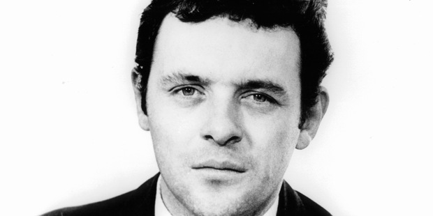 Anthony Hopkins in publicity portrait for the film 'The Looking Glass War', 1969.
