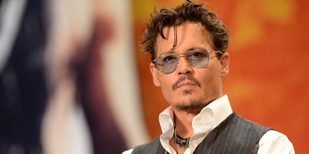 Johnny Depp attends the 'Lone Ranger' Japan Premiere at Roppongi Hills on July 17, 2013 in Tokyo, Japan. Photo / Getty