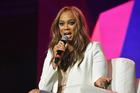 Tyra banks says when her career began to take off in Paris the industry unfairly told Naomi Campbell to watch her back. Photo / Getty Images