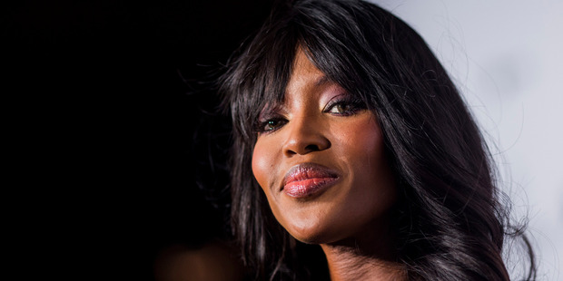 Model Naomi Campbell arrives on the red carpet during the 2015 amfAR Hong Kong gala at Shaw Studios on March 14, 2015 in Hong Kong. Photo / Getty