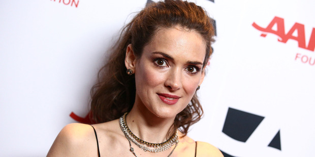 Actress Winona Ryder attends the 13th Annual AARP's Movies For Grownups Awards Gala at Regent Beverly Wilshire Hotel on February 10, 2014. Photo / Getty
