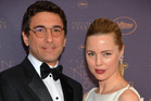 Jean-David Blanc and Melissa George. Photo / Getty Images
