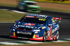 Craig Lowndes during the V8 Supercars Ipswich Supersprint. Photo / Getty Images