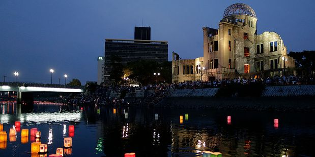 As many as 140,000 people died in the world's first nuclear attack at Hiroshima in Japan. Photo / Getty Images
