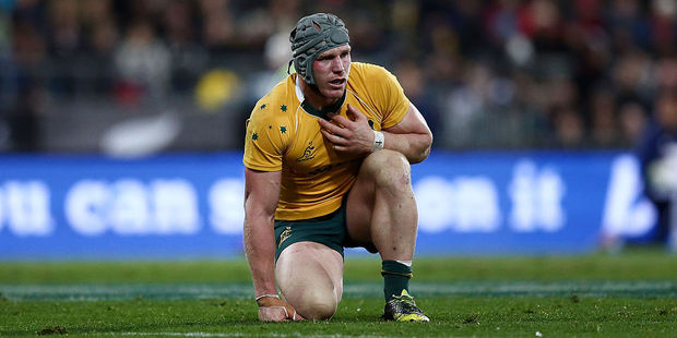 David Pocock is set to return for Australia. Photo / Getty