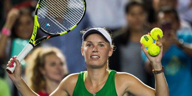Caroline Wozniacki takes the title at Hong Kong Open