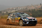 Sebastien Ogier during Day One of the WRC Spain. Photo / Getty Images
