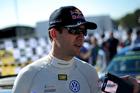 Sbastien Ogier of, Volkswagen Motorsport during Rally Spain. Photo / Getty Images