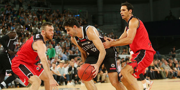 Todd Blanchfield was dominant for Melbourne United. Photo / Getty
