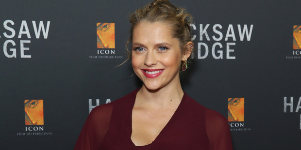 Teresa Palmer bluffed her way into Mel Gibson's new film, Hacksaw Ridge. Photo / Getty Images