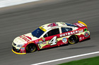 Kevin Harvick during the NASCAR Sprint Cup Series at Kansas Speedway. Photo / Getty Images