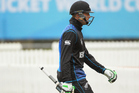 Martin Guptill was out for 0 in the first over. Photo / Photosport.co.nz