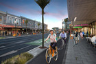 The proposal includes a protected cycleway on both sides of K Rd. Photo / Supplied