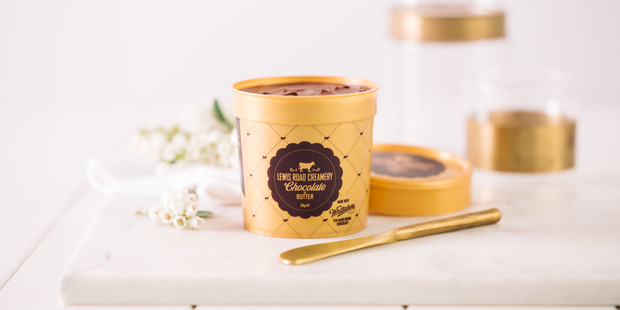 Loading Where can you find it? The new chocolate butter will be sitting pretty in supermarket fridges from today. Photo / Supplied