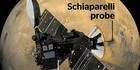 The European Space Agency's experimental Schiaparelli probe. NZ Herald graphic