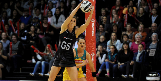 Bailey Mes of New Zealand collects a pass during the Constellation Cup Test match in Invercargill. Photosport