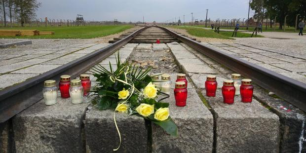 'Travelled to Auschwitz. Only photo I feel is respectful to post,' wrote one Reddit user. Photo / Embo1, Imgur