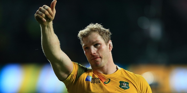 David Pocock has been cleared to play in this weekend's third Bledisloe Test at Eden Park. Photo / Photosport