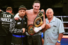 New Zealand heavyweight boxer Joseph Parker hopes to get a world title fight in Auckland in December. Photo / photosport.co.nz