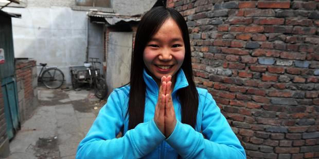 Greetings and Ni Hao from a young citizen. Photo / 123RF
