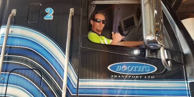 Martin John Ferry of Tauranga loved driving for Booths Transport.