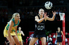 Silver Ferns captain Katrina Grant and her teammates struggled to contain the Aussies. Photo / Photosport