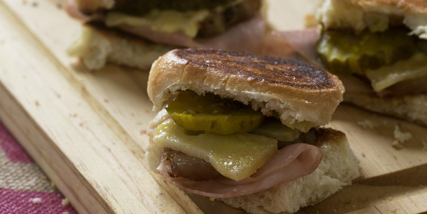 Grace's Sandwich Cubano. Photo / Garth Badger
