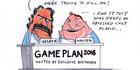 View: Cartoon: Hansen and Apiata's speech