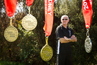 RAINING MEDALS: Rotorua's Bryan Eckersley has come back from the recent Australian Transplant Games with a golden medal haul. PHOTO/ STEPHEN PARKER