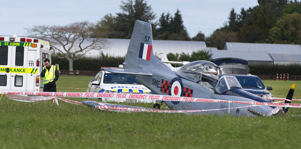 Loading A man is dead after a light plane crashed at Matamata Aerodrome. Photo / Alan Gibson