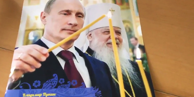 No one holds a candle to Putin. Photo / via Twitter
