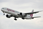 A Qatar Airways Boeing 777. The airline will start services from Auckland to Doha next February.