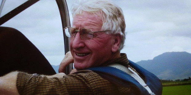 John Shuttleworth has been identified as the pilot of the plane that crashed at Matamata aerodrome. Photo / Supplied